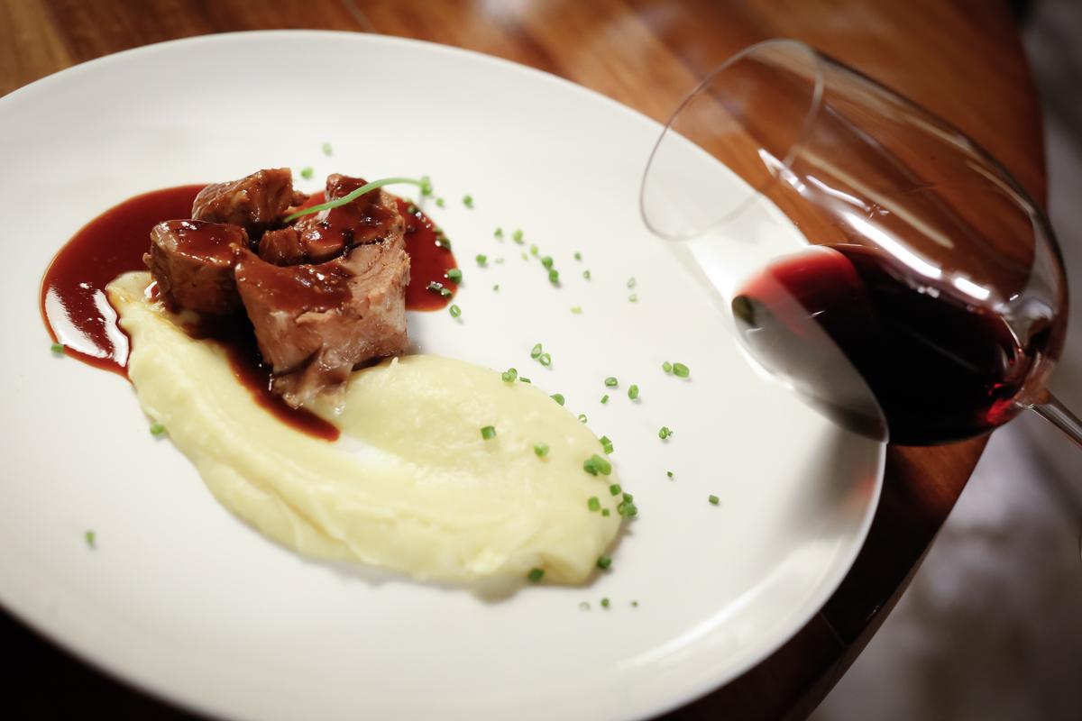 vinhos e comida
